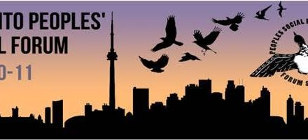 Invitation to participate in the Toronto Peoples' Social forum and PSF General Assembly July 10-12